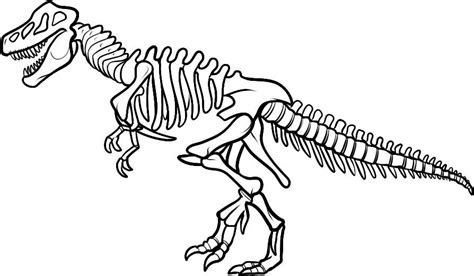coloring pages of dinosaur bones dinosaur coloring pages for kids