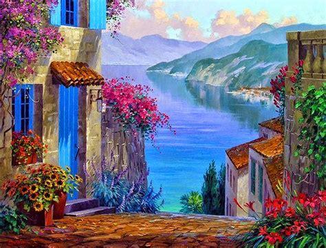 cuadros al oleo de paisajes cuadros modernos pinturas y dibujos cuadros de flores en