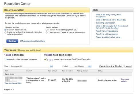 ebay resolution center ebayトラブル進捗管理表 輸出で役立つファイル第三弾 海外販売 com ebay amazon輸出で稼ぐ