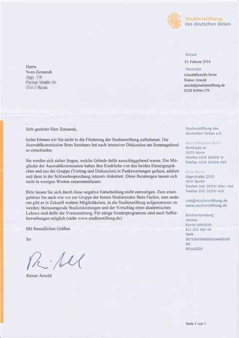 Lebenslauf Studienstiftung Tipps motivationsschreiben deutschland stipendium bewerbung
