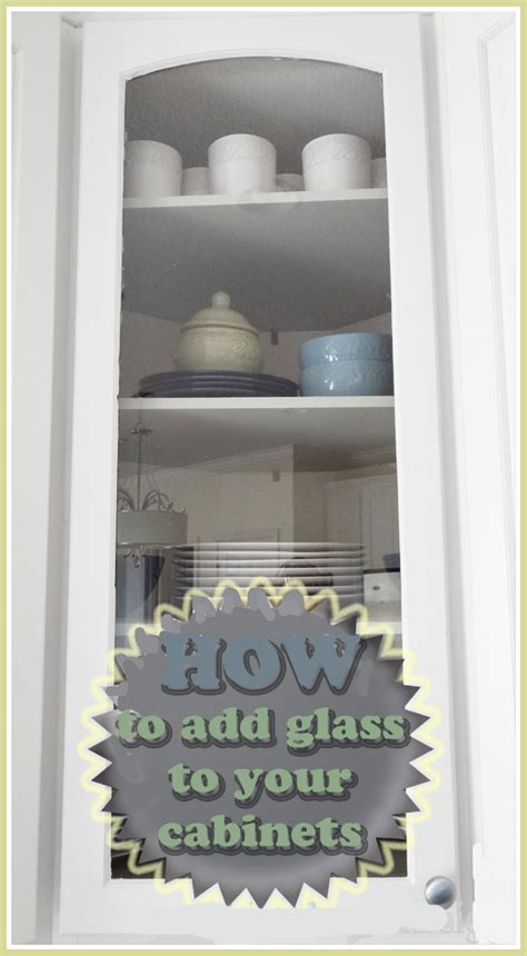 how to add glass to kitchen cabinet doors how to put glass in cabinet doors