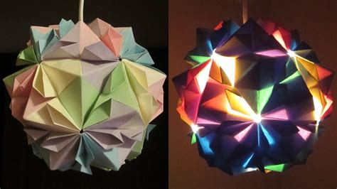 How To Make Origami Lights - image gallery origami paper lantern lights