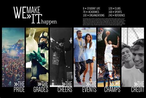 yearbook section ideas 17 best ideas about graduation templates on pinterest