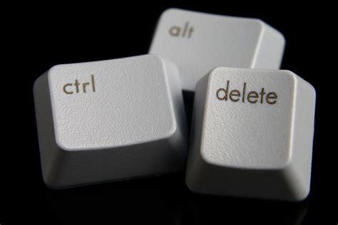 Alt Ctrl ctrl alt delete 3 steps to reboot your leadership style