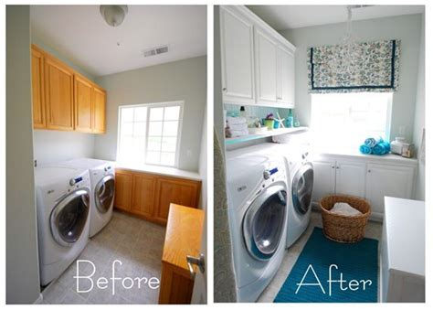 Painting Laundry Room Cabinets 5 Ways To Get This Look Wallpapered Laundry Room Infarrantly Creative