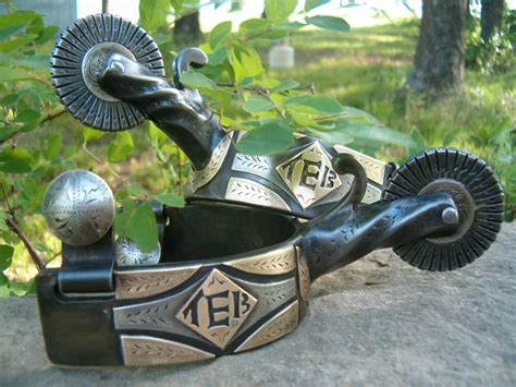 Custom Handmade Spurs - tony baker