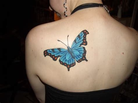 elegant butterfly tattoo designs butterfly on back