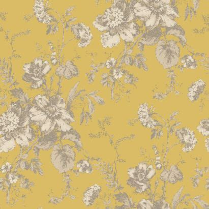 yellow floral wallpaper for walls arthouse vintage fleurette gold effect floral wallpaper