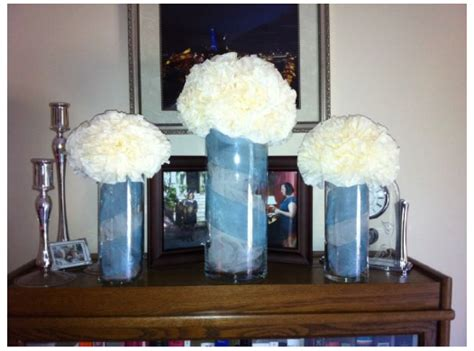 Ideas To Fill Glass Vases by Neat Idea For Filling Glass Vases Tulle Stacey Risk