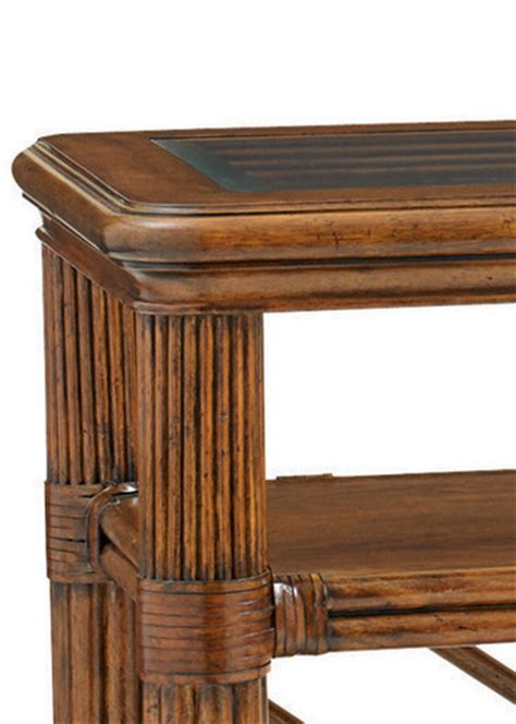 tommy bahama sofa table islander console table by tommy bahama home home gallery