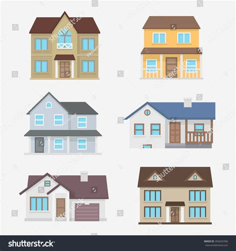house line drawing images stock photos vectors shutterstock house vector illustration home exterior set stock vector