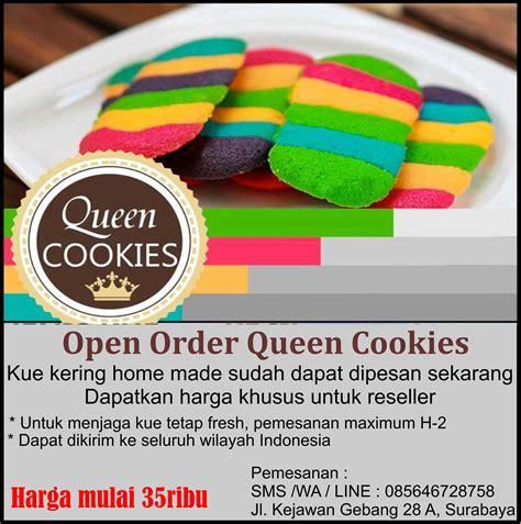 Paket Khusus Reseller cookies fresh crispy