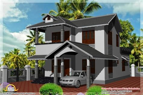beautiful  style home plans  kerala  home plans