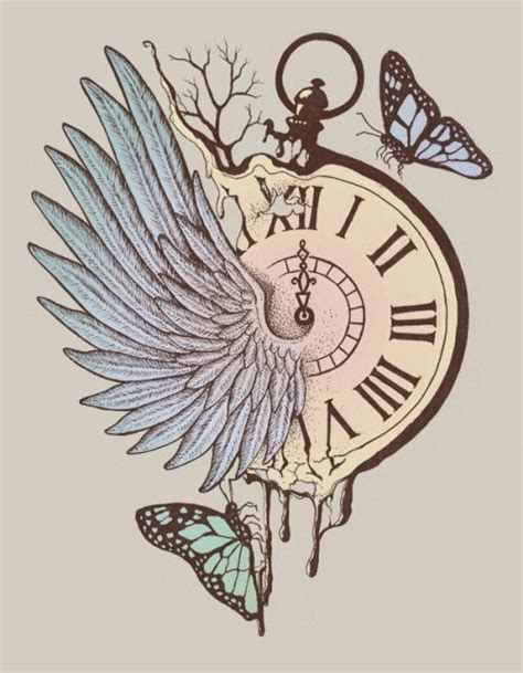 time flies tattoo 17 best ideas about time flies on