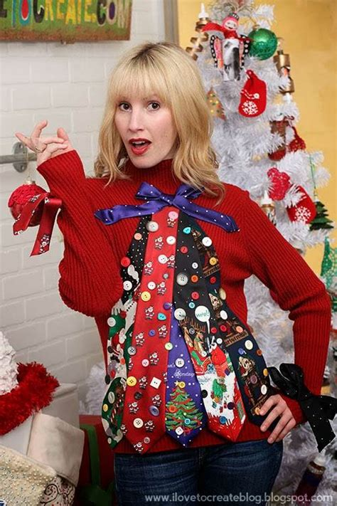 most creative holiday sweaters 7 diy sweaters from today