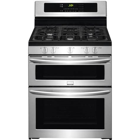 Oven With Gas Cooktop frigidaire gallery 5 9 cu ft oven gas range with self cleaning convection in lower oven