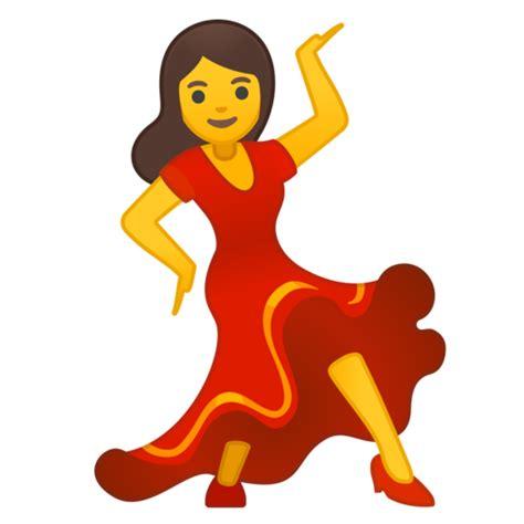 dancing emoji bailarina emoji