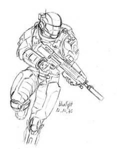 odst with ma37 by bluelightt on deviantart
