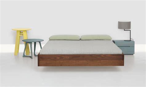 Kasur Bed Uk 160 simple bed 160 x 200 cm walnut by zeitraum