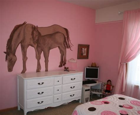 horse decorations for bedroom horse themed girls bedrooms horse bedroom designs