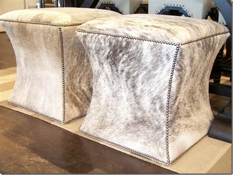 hair on hide ottoman what s wednesday hair on hide ottomans