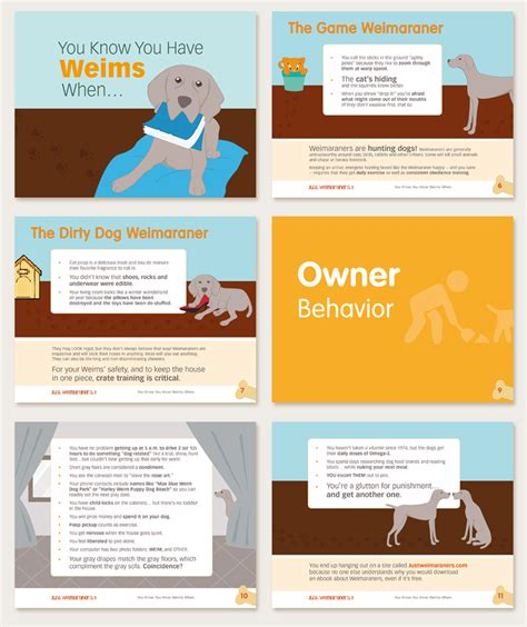 design poster ebook ebook design you know you have weims when ideastylist
