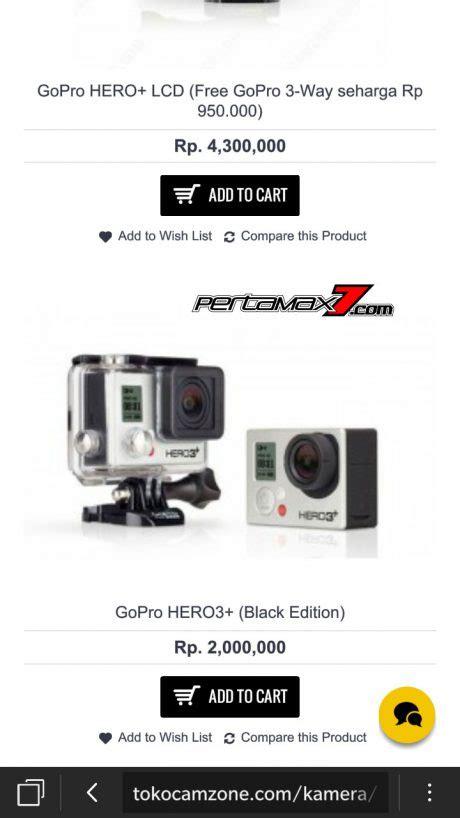 Gopro 3 Di Medan Gopro Hero3 Black Edition Rp 2 Juta Di Tokocamzone Pertamax7