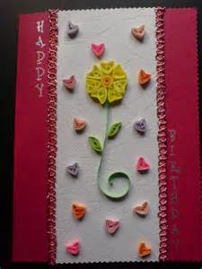 Handmade Greeting Cards For - chami crafts handmade greeting cards hearts birthday card