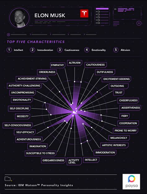 elon musk personality type ibm watson elon musk s personality traits are summed up