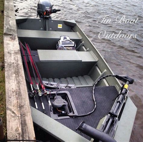 drift boat oar setup custom jon boat flat bottom ideas pinterest aluminum jon