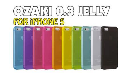 Ozaki Iphone 5 Thin 0 3mm ozaki o coat 0 3 jelly iphone 5 review