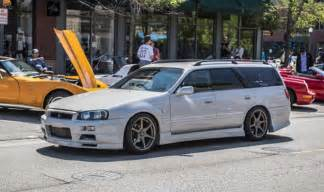 Nissan Stagia Nissan Stagea R34 Gt R Wagon Will Make You The Coolest Kid