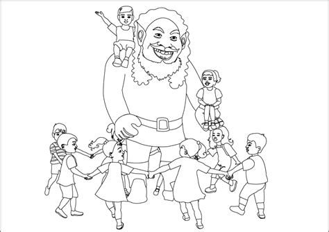 giant coloring page coloring home