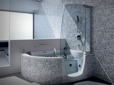 soaking tub shower combination trendy donut a lot of