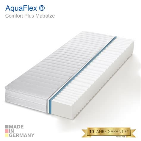 matratze 7 zonen 7 zonen aquaflex 174 wellness comfort plus marken kaltschaum