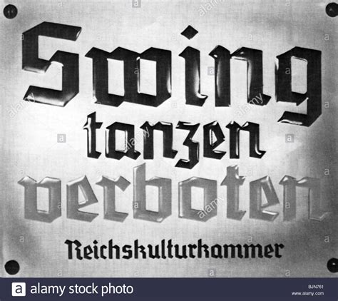 swing im dritten reich national socialism nazism culture sign of the