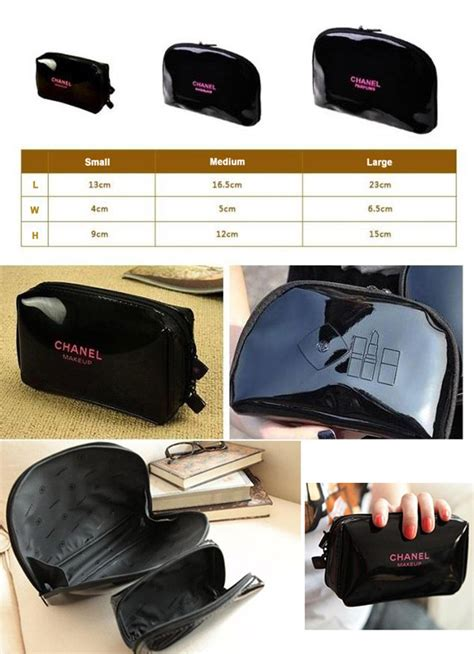Tas Kosmetik Small Cosmetics Pouch Fashionable Sale Best Deals Grosir my mall 96 hcc1 chanel cosmetic pouch set 3pcs s m l