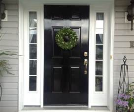 what you should about painting your front door black