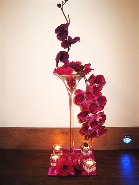 martini glass centerpiece large martini glass centerpieces uk
