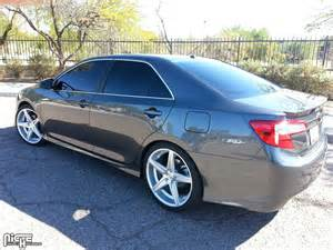 Toyota Camry With Rims Toyota Camry Apex M125 Gallery Mht Wheels Inc