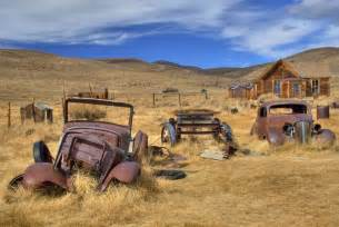 15 stunning colour photos from a californian gold rush ghost town made from history