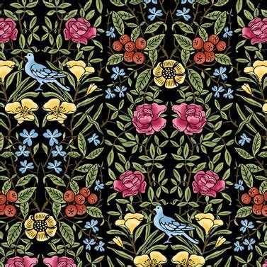 William Morris Patchwork Fabric - one of my favourite michele hill fabrics from morris