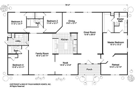 manufactured home floor plan 2005 clayton colony bay 28 manufactured home floor plan 2005 double wide