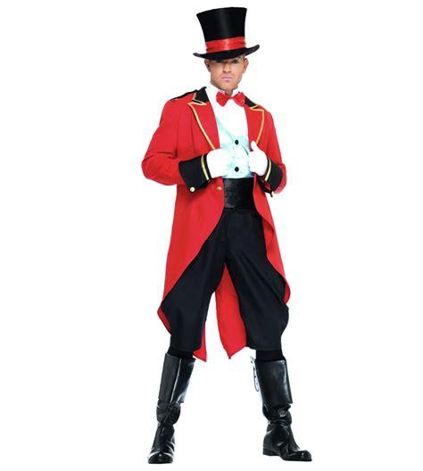 mens ringmaster costume ringmaster adult costume n4573