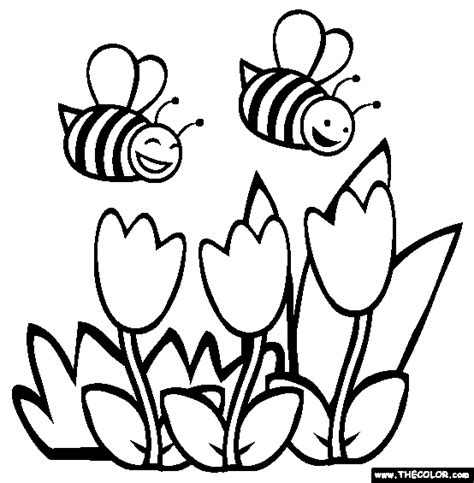 coloring pages online to color bees coloring page free bees online coloring drawings