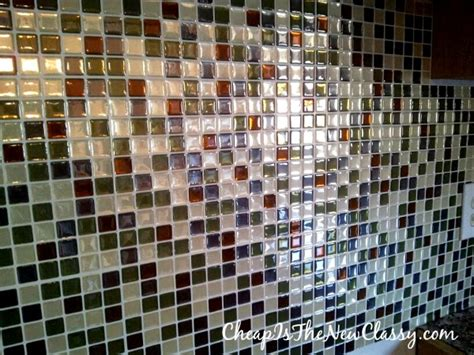 installation of smart tiles peel and stick backsplash