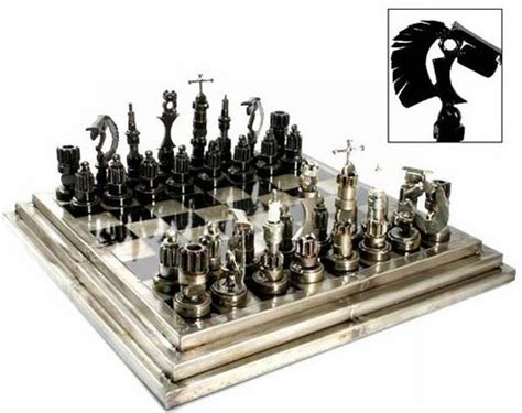 best chess sets 10 amazing chess sets made from recycled materials ecofriend
