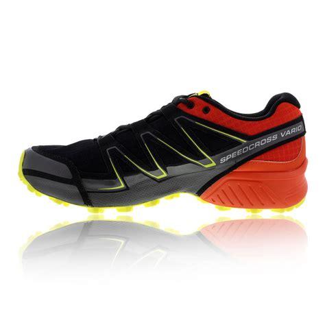 sport shoes salomon salomon speedcross vario mens orange black running sports