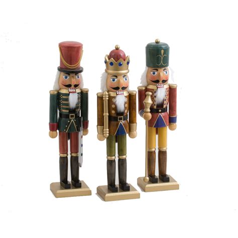 nutcracker ornaments uk ornament figure wooden antique nutcracker figure