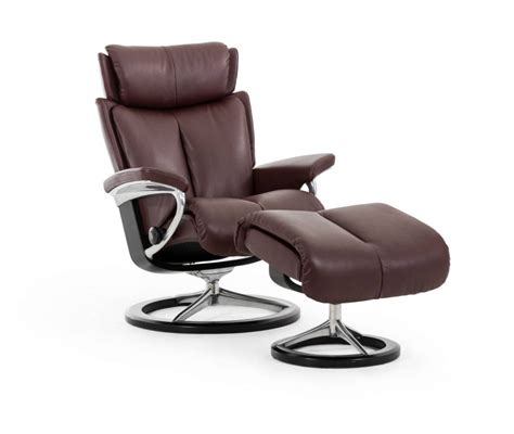 Ottoman Sessel by Stressless Magic Chair Ottoman Signature Base The